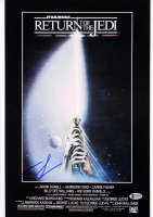 """George Lucas Signed """"Star Wars: Episode IV - A New Hope"""" 12x18 Poster (Beckett LOA) at PristineAuction.com"""
