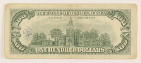Star Note - 1966 $100 One Hundred-Dollar Red Seal U.S. Legal Tender Bank Note at PristineAuction.com