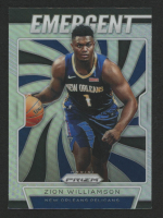 Zion Williamson 2019-20 Panini Prizm Emergent #7 at PristineAuction.com