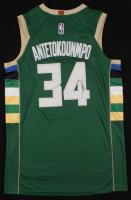 Giannis Antetokounmpo Signed Bucks Jersey (PSA COA) at PristineAuction.com