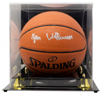 Zion Williamson Signed NBA Game Ball Series Basketball with High-Quality Display Case (Beckett LOA & Fanatics Hologram) at PristineAuction.com