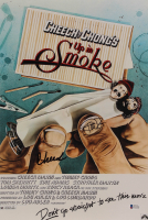 """Cheech Marin & Tommy Chong Signed """"Up in Smoke"""" 12x18 Photo (Beckett COA) at PristineAuction.com"""