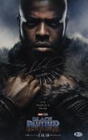 "Winston Duke Signed ""Black Panther"" 11x17 Photo Inscribed ""M'Baku!!"" (Beckett COA) at PristineAuction.com"