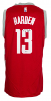 James Harden Signed Rockets City Edition Nike Jersey (Beckett COA) at PristineAuction.com