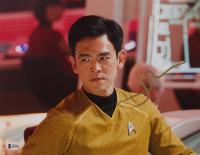 "John Cho Signed ""Star Trek"" 11x14 Photo (Beckett COA) at PristineAuction.com"