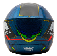 Jeff Gordon Signed NASCAR Axalta Rainbow Racing Full-Size Helmet (Gordon Hologram & Beckett COA) at PristineAuction.com