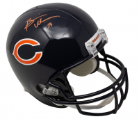 Brian Urlacher Signed Bears Full-Size Throwback Helmet (Beckett COA) at PristineAuction.com