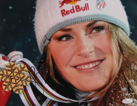 Lindsey Vonn Signed Team USA 11x14 Photo (JSA COA) at PristineAuction.com