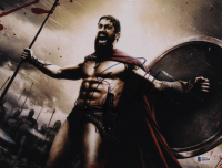 """Gerard Butler Signed """"300"""" 11x14 Photo (Beckett COA) at PristineAuction.com"""