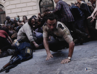 """Andrew Lincoln Signed """"The Walking Dead"""" 11x14 Photo (Beckett COA) at PristineAuction.com"""