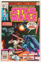 "1977 ""Star Wars"" Issue #6 Marvel Comic Book at PristineAuction.com"