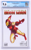 "2010 ""The Invincible Iron Man"" Issue #20 Marvel Comic Book (CGC 9.6) at PristineAuction.com"