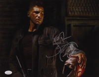 """Jon Bernthal Signed """"The Punisher"""" 11x14 Photo with Sketch (JSA COA) at PristineAuction.com"""
