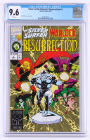 "1993 ""Silver Surfer / Warlock: Resurrection"" Issue #1 Marvel Comic Book (CGC 9.6) at PristineAuction.com"