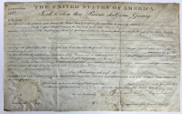 Andrew Jackson Signed Authentic Land Grant Document (Beckett LOA) at PristineAuction.com
