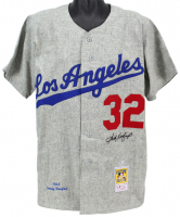 Sandy Koufax Signed Dodgers Jersey (Beckett LOA) at PristineAuction.com