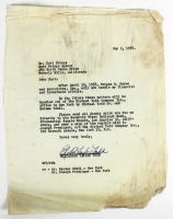 Elizabeth Taylor Signed Authentic Letter (Beckett LOA) at PristineAuction.com