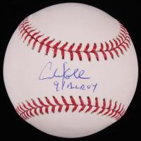 "Chuck Knoblauch Signed OML Baseball Inscribed ""91 AL ROY"" (JSA COA) at PristineAuction.com"