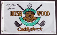 """Chevy Chase Signed """"Caddyshack"""" Bushwood Country Club Golf Pin Flag Inscribed """"Ty Webb"""" (Beckett COA) at PristineAuction.com"""