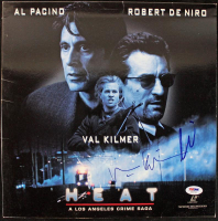 "Al Pacino & Val Kilmer Signed ""Heat"" CD Disc Cover (PSA COA) at PristineAuction.com"
