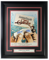 """Tommy Chong & Cheech Martin Signed """"Up In Smoke"""" 16x23 Custom Framed Movie Poster Display (Beckett Hologram) at PristineAuction.com"""