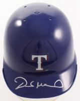 Derek Holland Signed Rangers Mini Batting Helmet (SidsGraphs Hologram) at PristineAuction.com