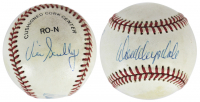 Don Drysdale & Vin Scully Signed ONL Baseball (JSA LOA) at PristineAuction.com