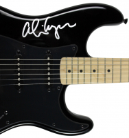 Alice Cooper Signed Fender Electric Guitar with Hand-Drawn Sketch (PSA LOA) at PristineAuction.com