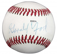 Gerald Ford Signed Rawlings Baseball (PSA COA) at PristineAuction.com