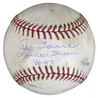 "Joe Torre Signed LE OML Game-Used Baseball Inscribed ""Yankees Skipper 96-07"" (Steiner COA & MLB Hologram) at PristineAuction.com"