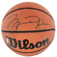 Michael Jordan Signed Wilson Basketball (UDA COA) at PristineAuction.com