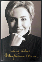 "Hillary Rodham Clinton Signed ""Living History"" Hard-Cover Book Inscribed ""Happy Birthday!"" (PSA COA) at PristineAuction.com"