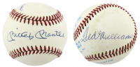 Mickey Mantle & Ted Williams Signed OAL Baseball (PSA LOA) at PristineAuction.com