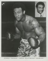 George Foreman Signed 8x10 Photo (JSA COA) at PristineAuction.com