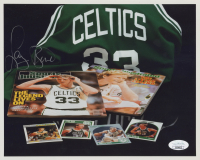 Larry Bird Signed Celtics 8x10 Photo (JSA COA) at PristineAuction.com