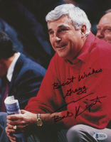 """Bobby Knight Signed Hoosiers 8x10 Photo Inscribed """"Best Wishes"""" (JSA COA) at PristineAuction.com"""