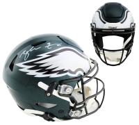Zack Ertz Signed Eagles Full-Size Authentic On-Field SpeedFlex Helmet (Radtke COA) at PristineAuction.com