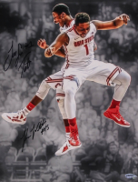 Jared Sullinger & J. D. Weatherspoon Signed Ohio State Buckeyes 11x14 Photo (Playball Ink Hologram) at PristineAuction.com