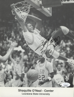 Shaquille O'Neal Signed Lakers 8.5x11 Photo (JSA COA) at PristineAuction.com