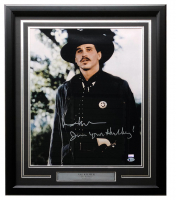 "Val Kilmer Signed ""Tombstone"" 22x27 Custom Framed Photo Display Inscribed ""I'm Your Huckleberry"" (Beckett COA) at PristineAuction.com"