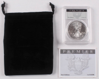 2017 American Silver Eagle $1 One Dollar Coin - First Edition Premier Label (PCGS MS70) at PristineAuction.com