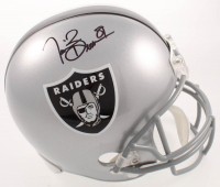 Tim Brown Signed Raiders Full-Size Helmet (Beckett COA) at PristineAuction.com