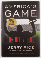 "Jerry Rice Signed ""America's Game"" Hard-Cover Book (Beckett COA) at PristineAuction.com"