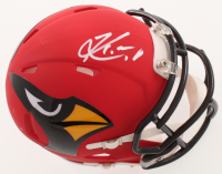 Kyler Murray Signed Cardinals AMP Alternate Mini Speed Helmet (Beckett COA) at PristineAuction.com