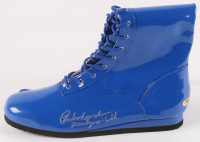 """Rulon Gardner Signed Wrestling Boot Inscribed """"2000 Olympic Gold"""" (MAB Hologram) at PristineAuction.com"""