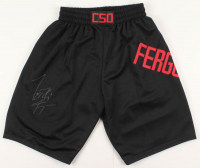"Tony Ferguson Signed Trunks Inscribed ""El Cucuy"" (PSA COA) at PristineAuction.com"