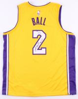 Lonzo Ball Signed Lakers Jersey (PSA COA) at PristineAuction.com