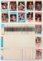 Lot of (3) 1988-89 Fleer, 1989-90 Fleer, 1990-91 Fleer Complete Sets of Basketball Cards with (7) Michael Jordan, Scottie Pippen RC, Reggie Miller RC, John Stockton RC at PristineAuction.com