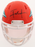 Frank Gore Signed Dolphins AMP Alternate Speed Mini-Helmet (Beckett COA) at PristineAuction.com