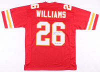 "Damien Williams Signed Jersey Inscribed ""SB LIV Champs"" (Beckett COA) at PristineAuction.com"